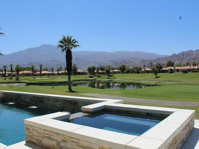 Photo for PGA West Jack Nicklaus Home with Course, Lake, And Mountain Views