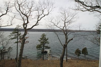 Seneca Lake View from the Cottage