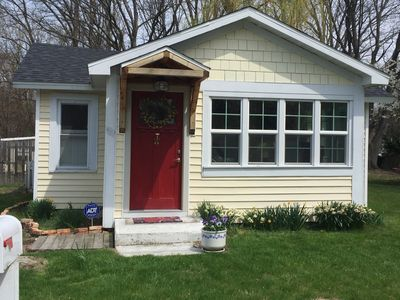Cottage With Studio Steps From Downtown New Buffalo And Beach