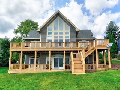 Photo for Best of Both Worlds- Newly Renovated Lakefront/ ski area home near Wisp Resort