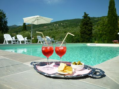 Photo for House in the Florentine hills with swimming pool, parking and free wifi