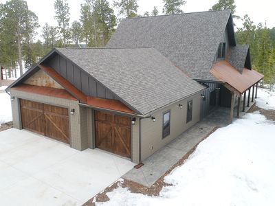 Photo for Incredible New 3 BR Modern Rustic Cabin near Deadwood and Local Clubhouse!
