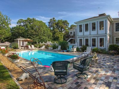 Photo for Newly redecorated Large home-compound with heated pool,