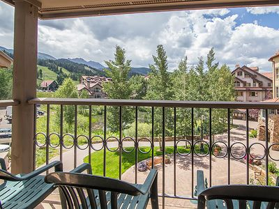 Photo for Mountain Getaway Perfect for Two Couples in the Mountain Village Core