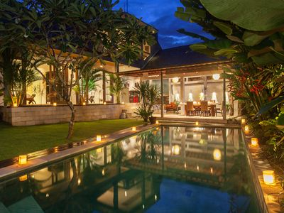 Photo for 3BR Beautiful villa in North Seminyak!