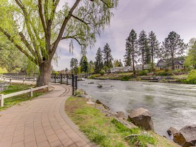 Photo for Modern condo w/ private balcony near downtown and river trail!