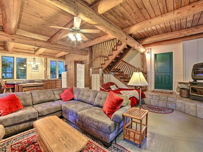 Photo for Lavish Bow Cabin on 5 Acres w/Fire Pit Near Hiking