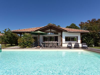 Photo for Villa along the golf course, with private swimming pool