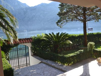 Photo for SEAFRONT TWO BEDROOMS & GARDEN APARTMENT-HOUSE 44