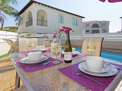 Photo for Protaras Holiday Home, Sleeps 4 with Pool, Air Con and WiFi