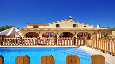 Photo for <![CDATA[ANZUELA - Rustic house with private pool for rent for 7 people in Benissa]]>