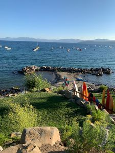 Photo for A Condo Right on the Lake in Tahoe Vista/Kings Beach with View.   Remodeled.