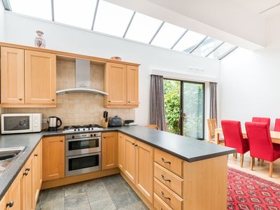 Photo for Bright 4 Bedroom House in Prime West Hampstead with Garden and Garage