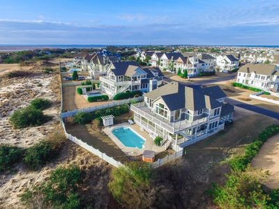 Photo for The Salty Beach at the Currituck Club 5 Bedroom Home with Private Community Amenities
