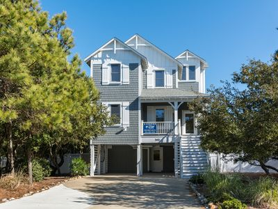 Photo for Jockey's Ridge 119:  Oceanside home with Private Salt Water Pool and Hot Tub