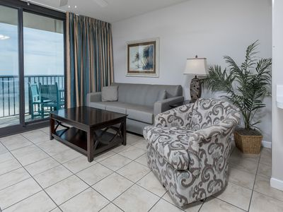 Photo for Wheelchair Accessible Beach Front Hotel Suite with Full Kitchen