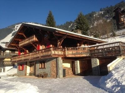 Photo for Nice chalet les 2 vallées for 20 persons