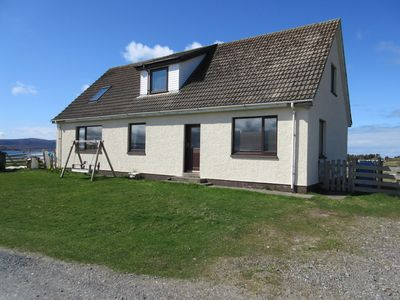 Photo for Taighali Apartment Aultbea IV22 2JN overlooking Loch Ewe pet friendly