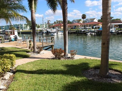 Updated Waterfront Unit with a great Pool. Come Relax Enjoy the Florida Sun.