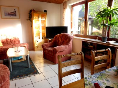 Photo for Holiday bungalow (RMH) with 3 bedrooms between forest and meadows, outskirts