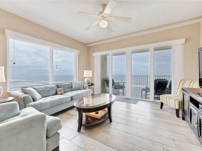 Photo for Sanibel 902, 3 Bedrooms, Beach Front, Pool Access, WiFi, Hot Tub, Sleeps 8