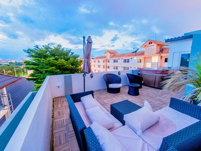Photo for Private Rooftop Jacuzzi Villa w/BBQ