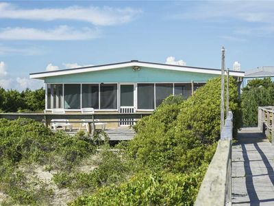 Photo for Lighthouse Cottage: 2 BR / 1 BA home in Caswell Beach, Sleeps 7