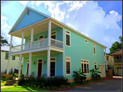 Photo for Historic Downtown Bayfront New Home - Mins to Beach, Walk Downtown, Pool, Bikes