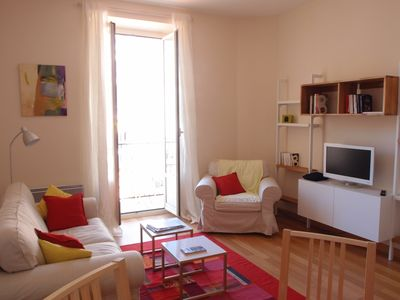 Photo for Nice, Quartier des Musiciens, lovely, spacious, quiet and luminous, 50 m2