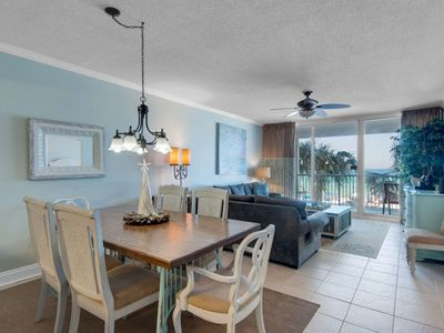 Photo for Huge Corner Unit! 2nd Flr Free Wifi Master on Gulf Free Fun Included with Rental Majestic