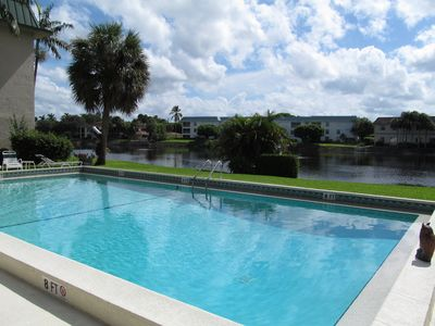 Photo for MAR/APR 2020 ! Quiet  2BR/2BA condo in favored Chateau Suzanne. Private Beach !