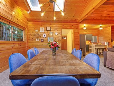 Photo for Rustic, modern home w/ large wooded backyard - moments to local beaches!