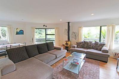 Living room at 60 Waiheke