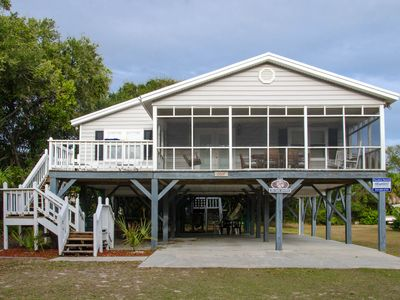 Photo for Sand Quarters - Screened Porch, Pet Friendly, Minimal Walk To the Beach