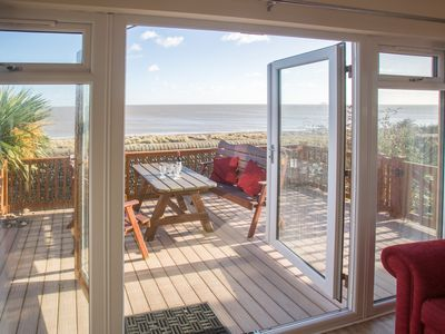 Photo for Sole Bay Lodge - Romantic Holiday Lodge With Magnificent Sea Views