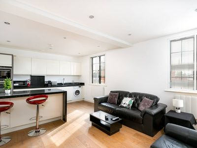 Photo for Modern 2 Bed In The Heart Of Ealing Broadway - Two Bedroom Apartment, Sleeps 4