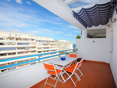 """Photo for Apartment a short walk away (278 m) from the """"Playa Del Cable"""" in Marbella with Lift, Parking, Internet, Washing machine (87183)"""