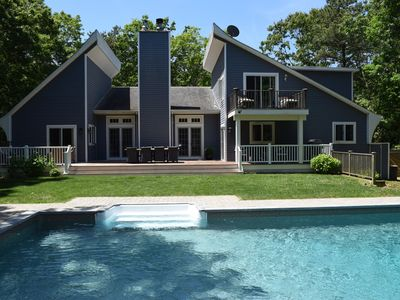 Photo for East Hampton Beach House w/ Heated Saltwater Pool & 2 Master Suites