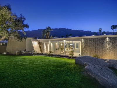 Photo for Updated Wexler Midcentury Movie Colony Home, Large Backyard+Pool & Spa - The Cas