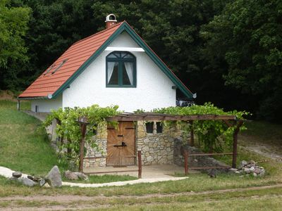Photo for Country house in a nature reserve on Lake Balaton with panoramic view for max. 4 people