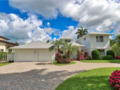 Photo for Paradise in Old Naples, Pool & Water front Home a few blocks from the beach