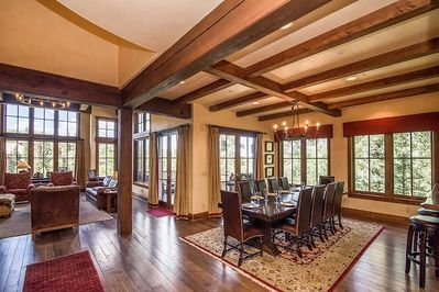Castellina A - Open floor plan, dining and living open to the kitchen
