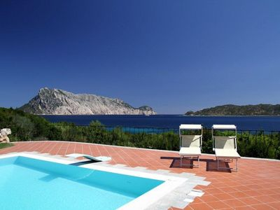 Photo for Villa with sea view and outdoor pool