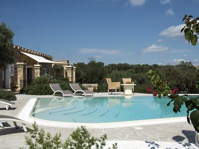 Photo for Beautiful 1860s Villa Apartment with Pool