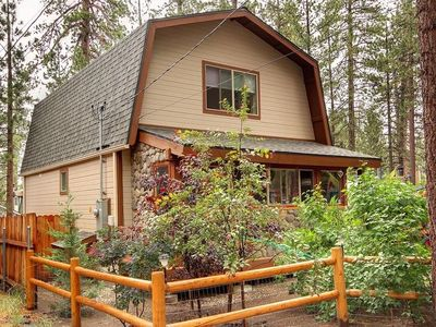 Photo for Perfect  Ski, Hike, Bike, LOCATION! Your PERFECT cabin. DOGS WELCOME!