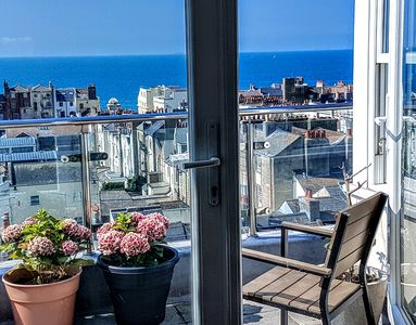 Photo for Central Sea View Penthouse with Private Roof Terraces