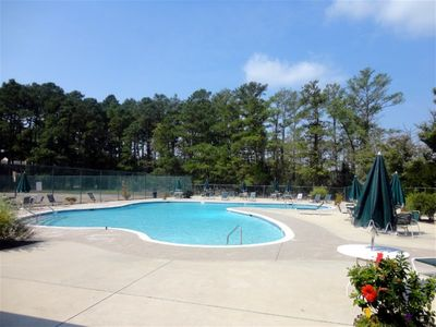 Photo for Bethany townhome-walk, bike or ride trolley to beach & boardwalk,sleeps 8, pool