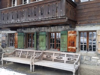 Photo for Cosy authentic Chalet in Gsteig bei Gstaad