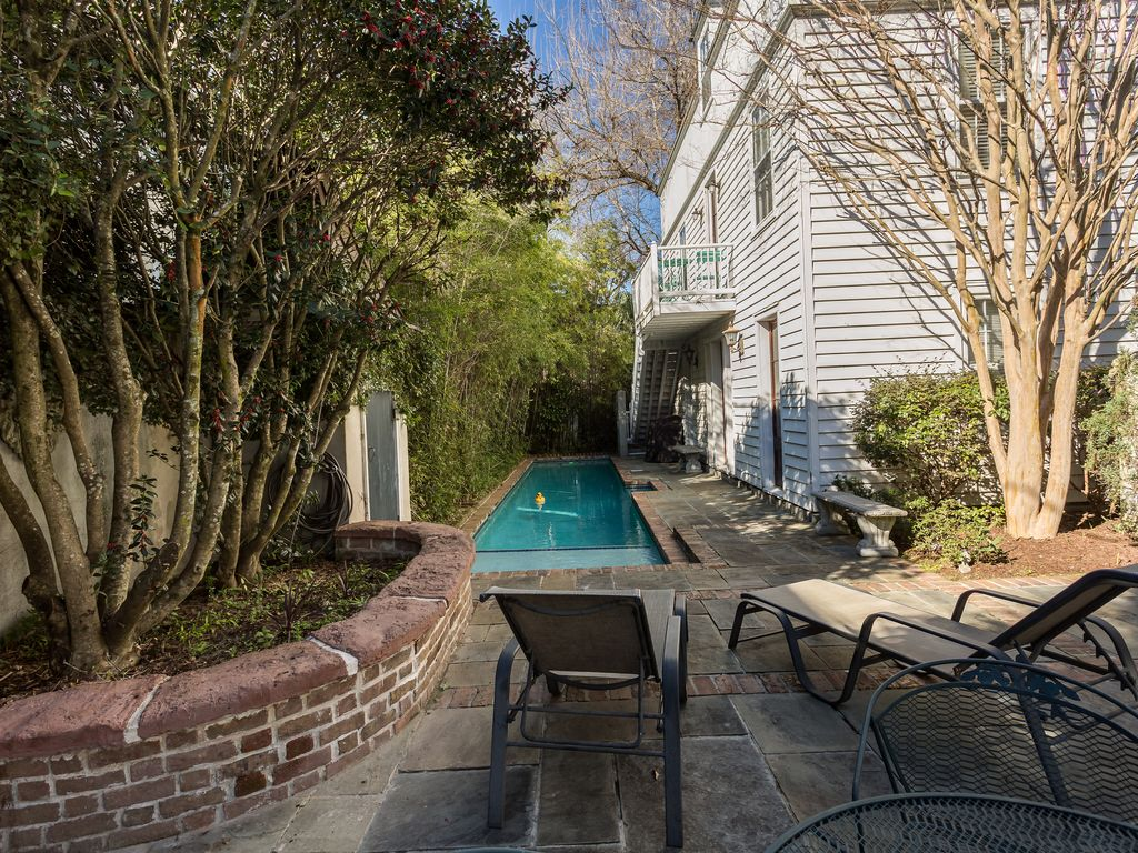 Charming Cottage in Downtown Charleston with Pool and Courtyard ...