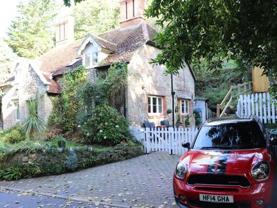 Photo for Luxury Rural 16th Century Stone Cottage in Shanklin Dog Friendly Log Burner